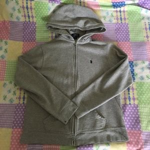 Polo Ralph Lauren Grey Hoodie Size XL